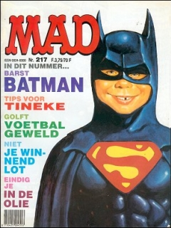 MAD Magazine #217 (Netherlands)