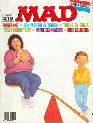 MAD Magazine #218 • Netherlands • 1st Edition
