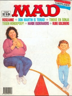 Go to MAD Magazine #218 • Netherlands • 1st Edition