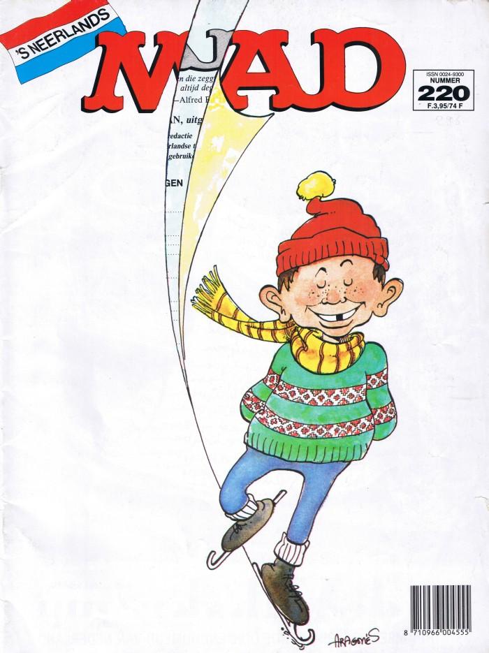 MAD Magazine #220 • Netherlands • 1st Edition