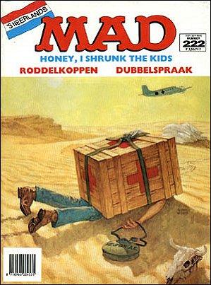 MAD Magazine #222 • Netherlands • 1st Edition