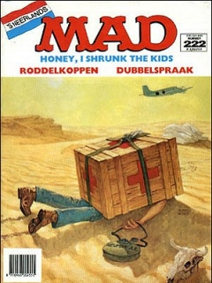 Go to MAD Magazine #222 • Netherlands • 1st Edition