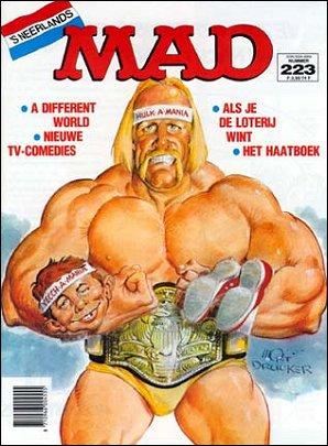 MAD Magazine #223 • Netherlands • 1st Edition