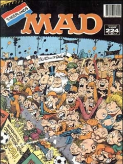 Go to MAD Magazine #224 • Netherlands • 1st Edition