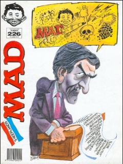 Go to MAD Magazine #226 • Netherlands • 1st Edition