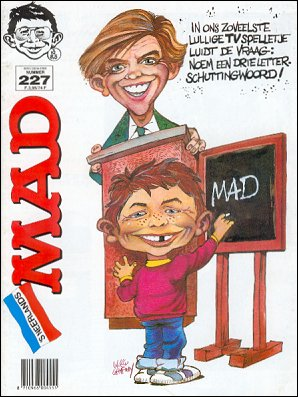 MAD Magazine #227 • Netherlands • 1st Edition