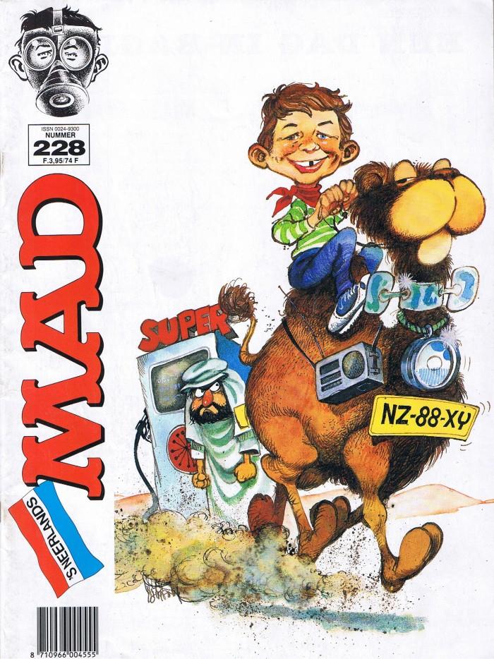 MAD Magazine #228 • Netherlands • 1st Edition