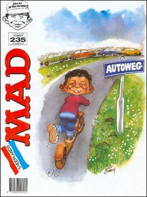 MAD Magazine #235 • Netherlands • 1st Edition