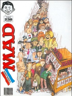Go to MAD Magazine #238 • Netherlands • 1st Edition