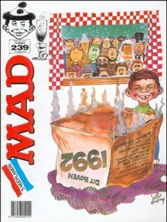 Go to MAD Magazine #239 • Netherlands • 1st Edition