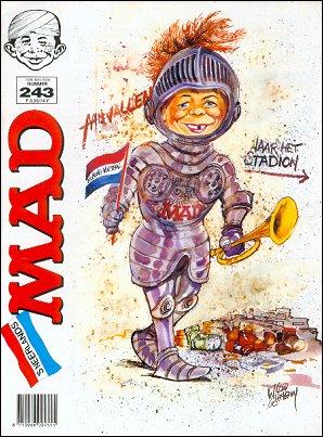 MAD Magazine #243 • Netherlands • 1st Edition