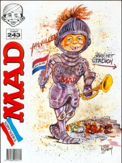 Go to MAD Magazine #243 • Netherlands • 1st Edition