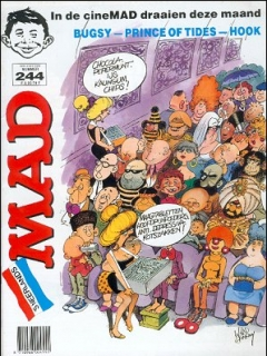 Go to MAD Magazine #244 • Netherlands • 1st Edition