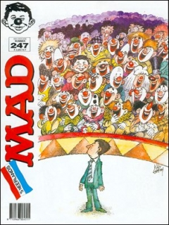 Go to MAD Magazine #247 • Netherlands • 1st Edition