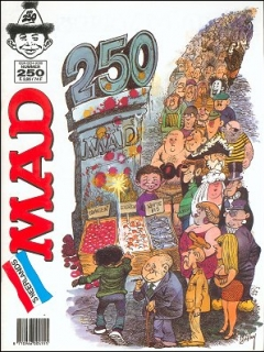 Go to MAD Magazine #250 • Netherlands • 1st Edition