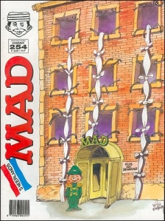 Go to MAD Magazine #254 • Netherlands • 1st Edition