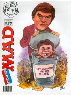 Go to MAD Magazine #256 • Netherlands • 1st Edition