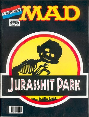 MAD Magazine #258 • Netherlands • 1st Edition