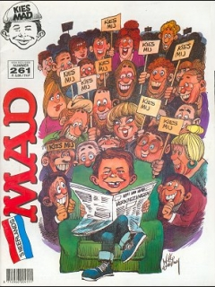 Go to MAD Magazine #261 • Netherlands • 1st Edition