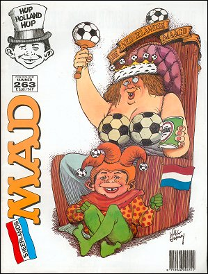 MAD Magazine #263 • Netherlands • 1st Edition