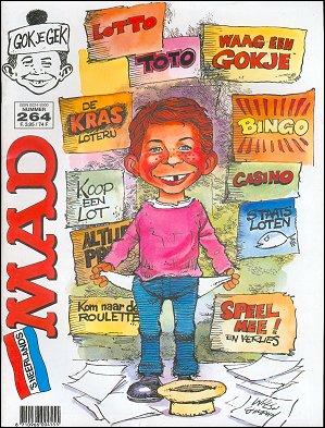 MAD Magazine #264 • Netherlands • 1st Edition