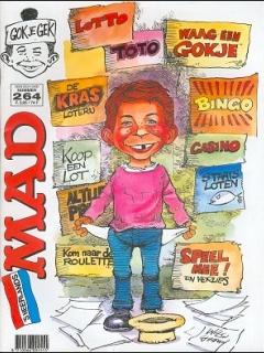 Go to MAD Magazine #264 • Netherlands • 1st Edition