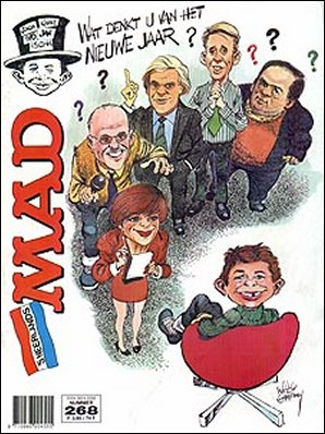 MAD Magazine #268 • Netherlands • 1st Edition