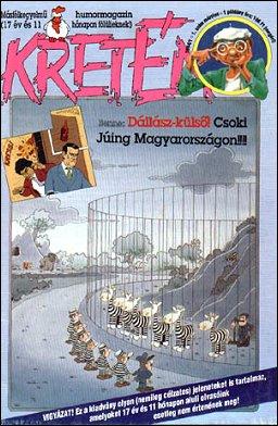 Kretén Magazine #1 • Hungary • 1st Edition - Kreten
