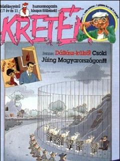 Hungarian Kretén Magazine #1