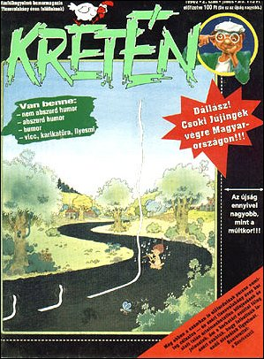 Kretén Magazine #2 • Hungary • 1st Edition - Kreten