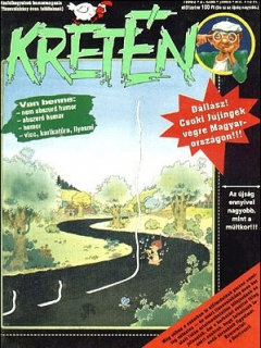 Go to Kretén Magazine #2 • Hungary • 1st Edition - Kreten