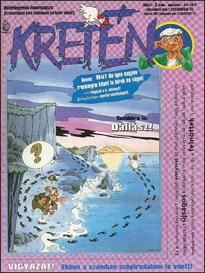 Kretén Magazine #3 • Hungary • 1st Edition - Kreten