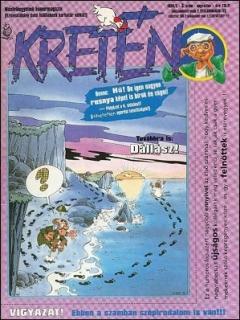 Go to Kretén Magazine #3 • Hungary • 1st Edition - Kreten