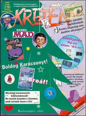 Kretén Magazine #6 • Hungary • 1st Edition - Kreten
