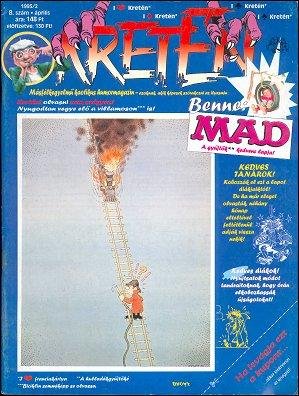 Kretén Magazine #8 • Hungary • 1st Edition - Kreten