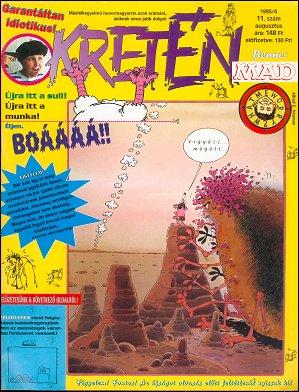 Kretén Magazine #11 • Hungary • 1st Edition - Kreten
