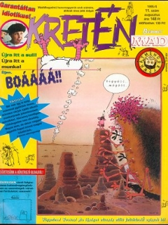 Go to Kretén Magazine #11 • Hungary • 1st Edition - Kreten
