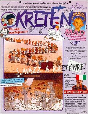 Kretén Magazine #14 • Hungary • 1st Edition - Kreten