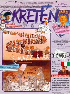 Go to Kretén Magazine #14 • Hungary • 1st Edition - Kreten