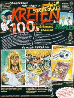 Go to Kretén Magazine #15 • Hungary • 1st Edition - Kreten