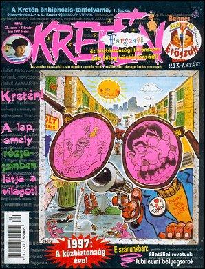 Kretén Magazine #23 • Hungary • 1st Edition - Kreten