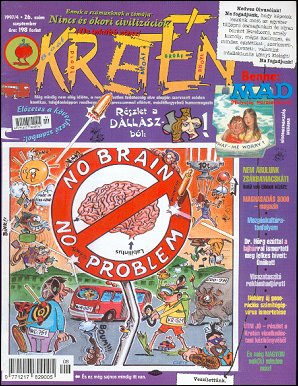 Kretén Magazine #26 • Hungary • 1st Edition - Kreten