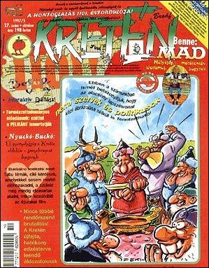 Kretén Magazine #27 • Hungary • 1st Edition - Kreten