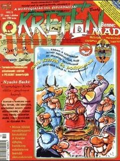 Go to Kretén Magazine #27 • Hungary • 1st Edition - Kreten