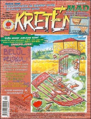 Kretén Magazine #29 • Hungary • 1st Edition - Kreten