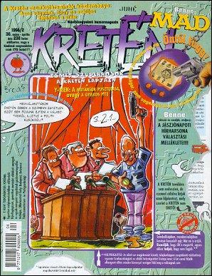 Kretén Magazine #30 • Hungary • 1st Edition - Kreten