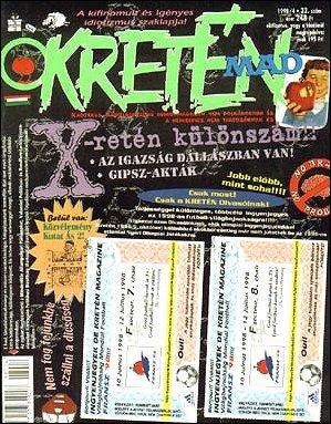 Kretén Magazine #32 • Hungary • 1st Edition - Kreten