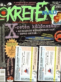 Go to Kretén Magazine #32 • Hungary • 1st Edition - Kreten
