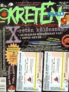 Go to Kretén Magazine #32 • Hungary • 1st Edition - Kreten