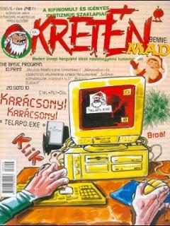 Go to Kretén Magazine #34 • Hungary • 1st Edition - Kreten